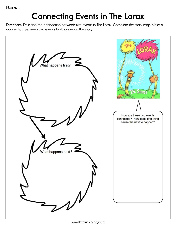 Dr Seuss Worksheets Have Fun Teaching