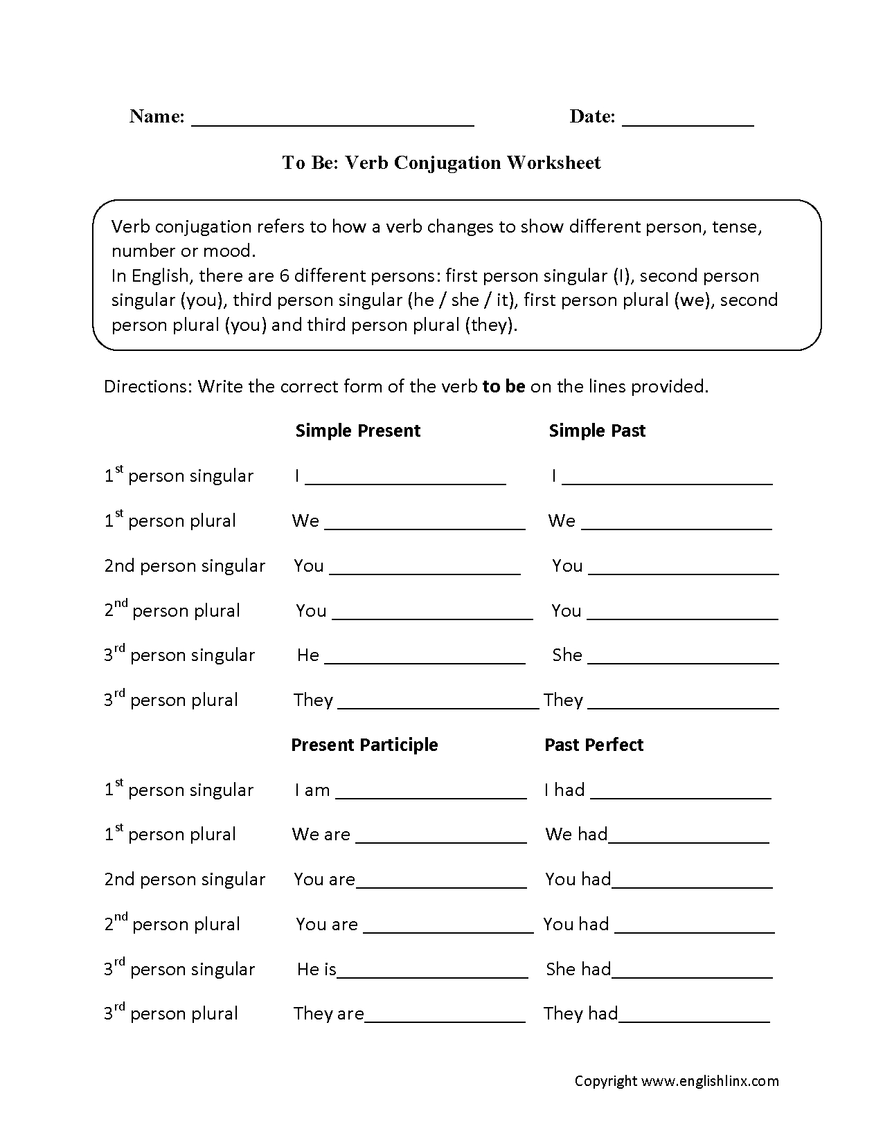 Troublesome Verbs Worksheets With Answers