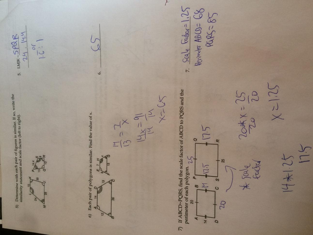 Worksheet 1 2 Measuring Segments Day 1