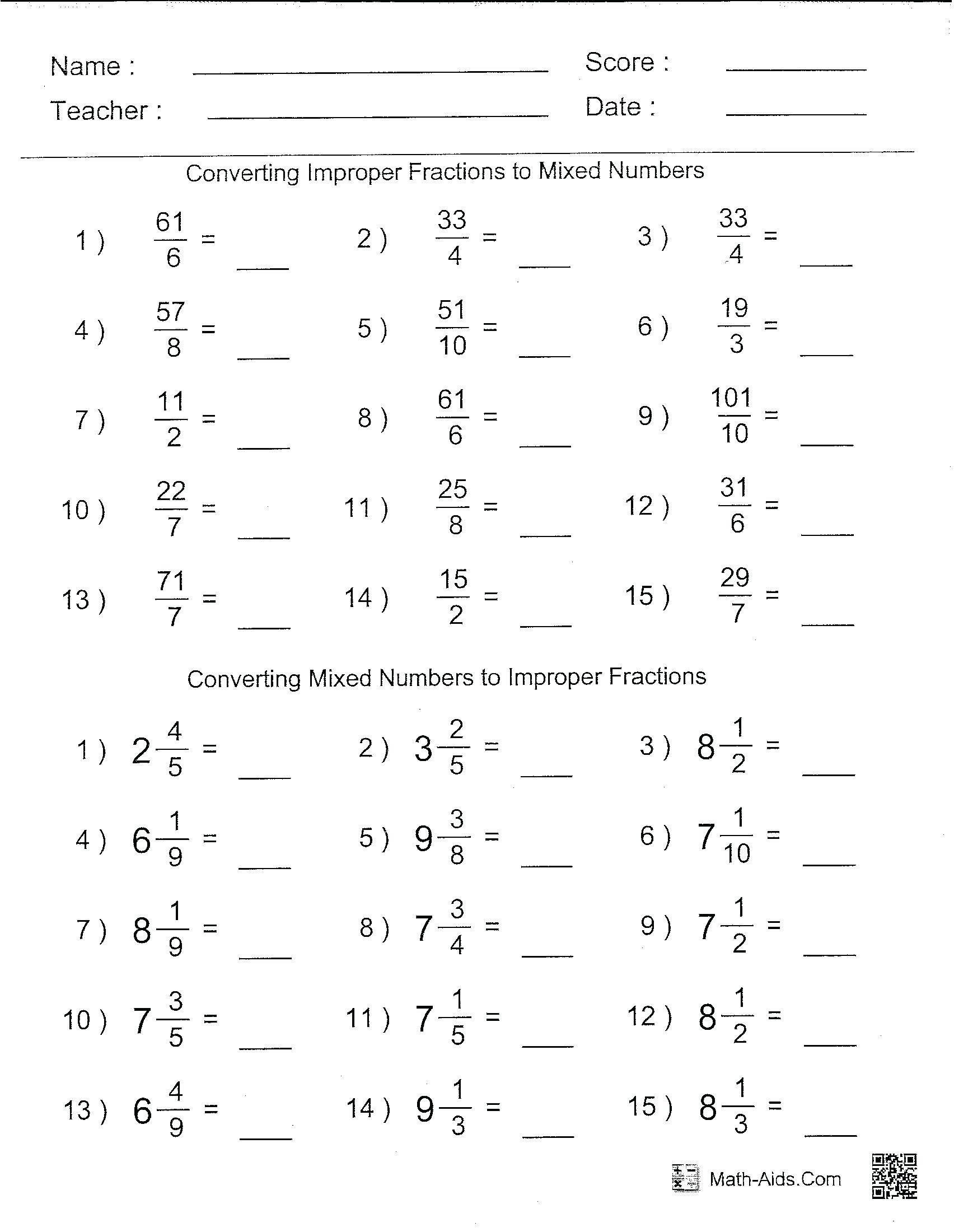 Exponent Worksheet 6th Grade Math Brain Quest Workbook 6