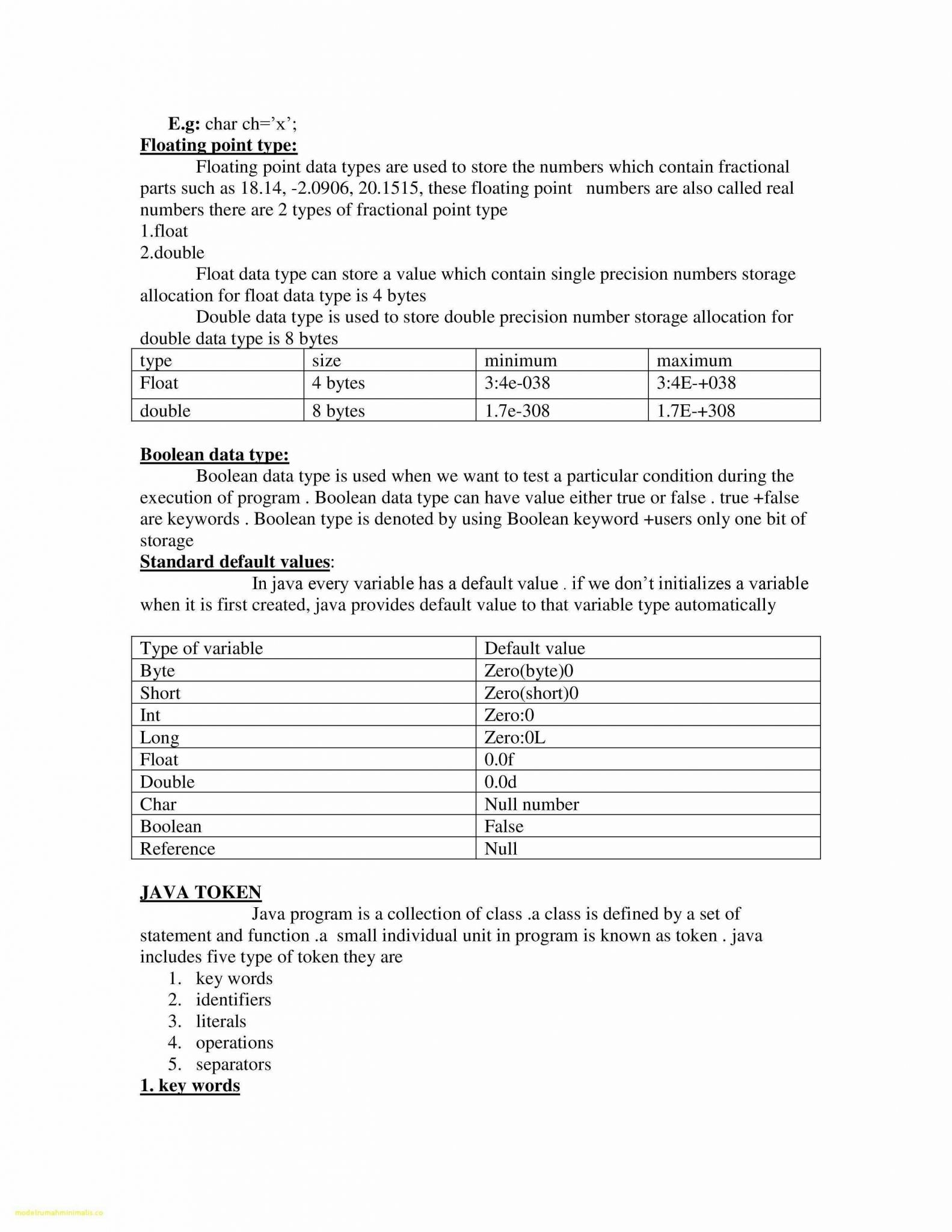 Five Types Of Chemical Reaction Worksheet