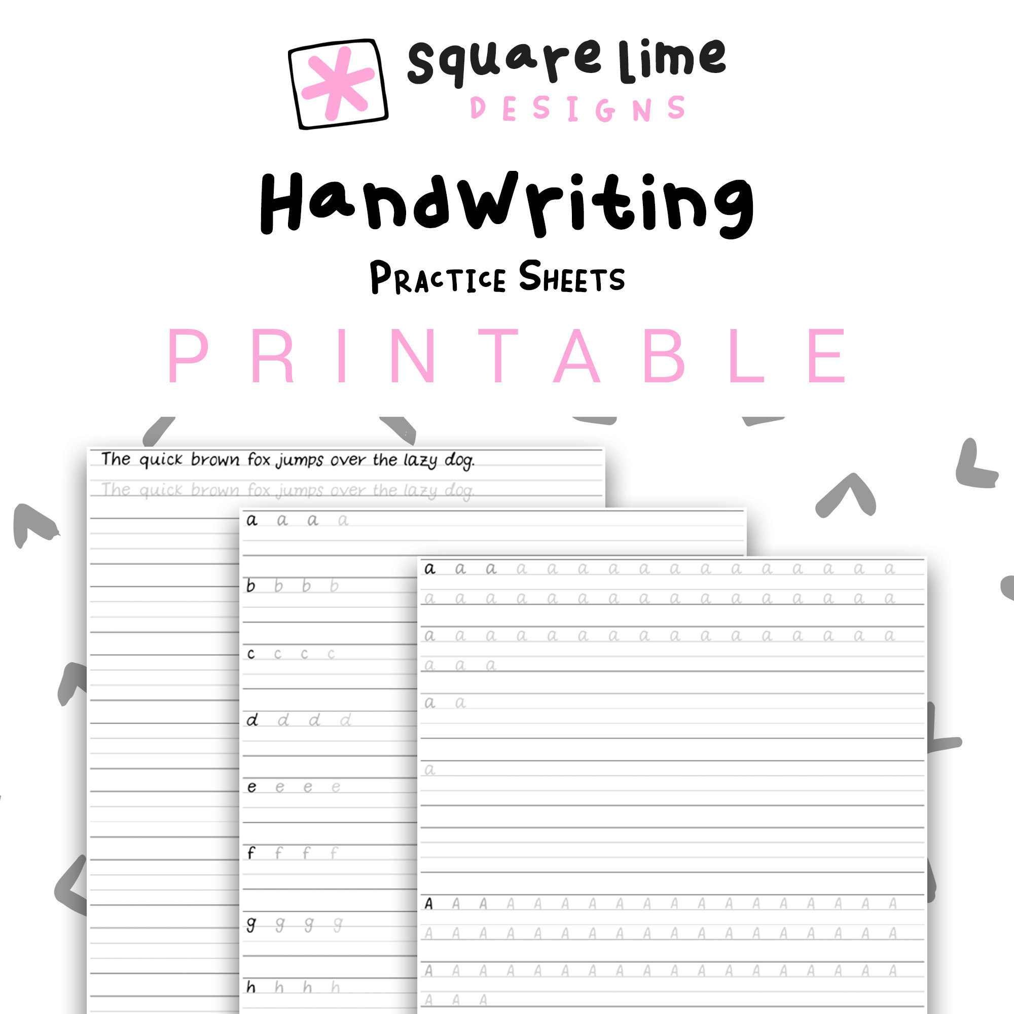 Handwriting Improvement Worksheets For Adults