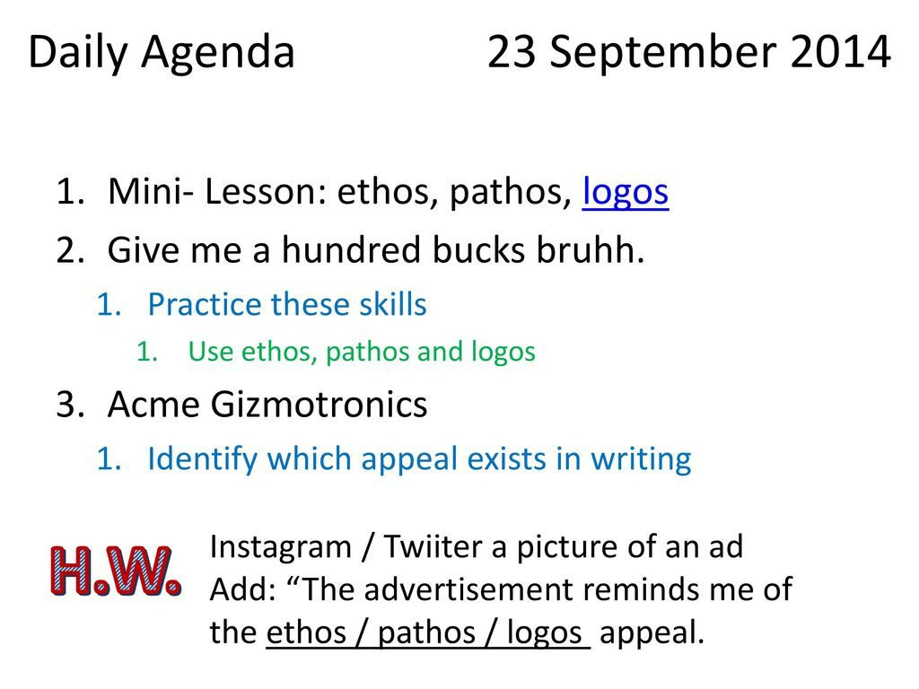 Identifying Ethos Pathos Logos In Advertising Worksheet