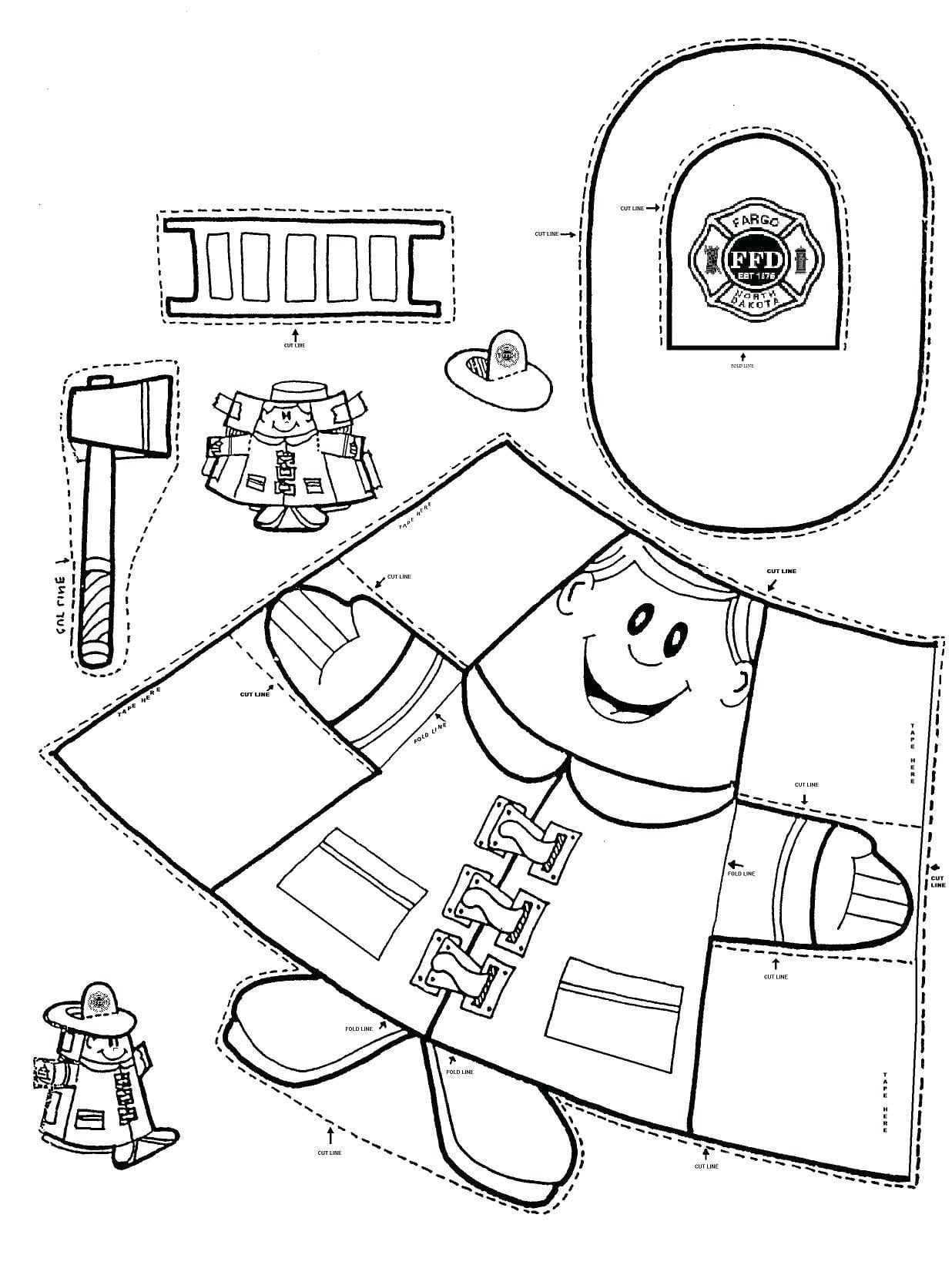 Internet Safety Coloring Sheets