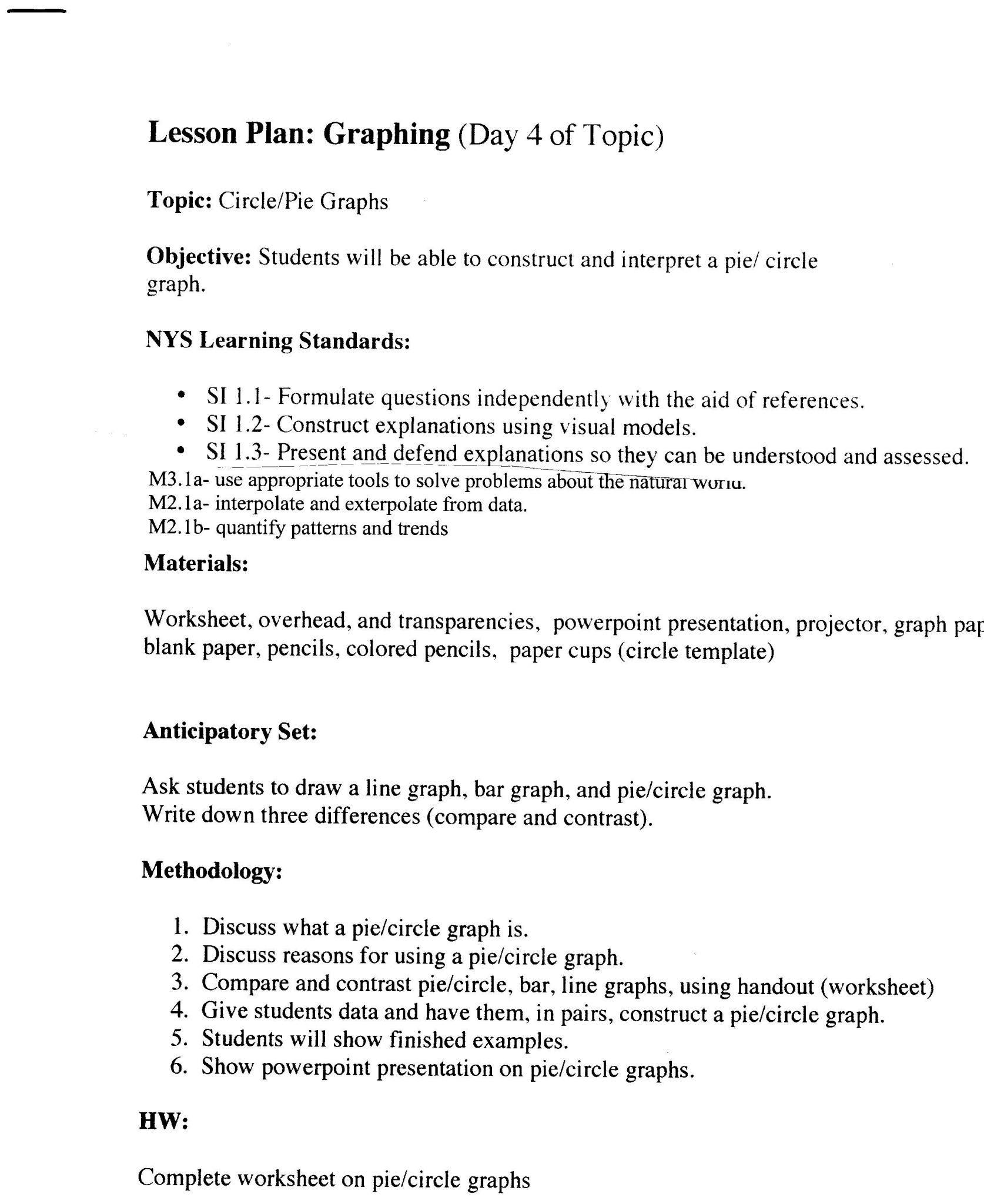 Interpreting Graphics Worksheet Answers Biology