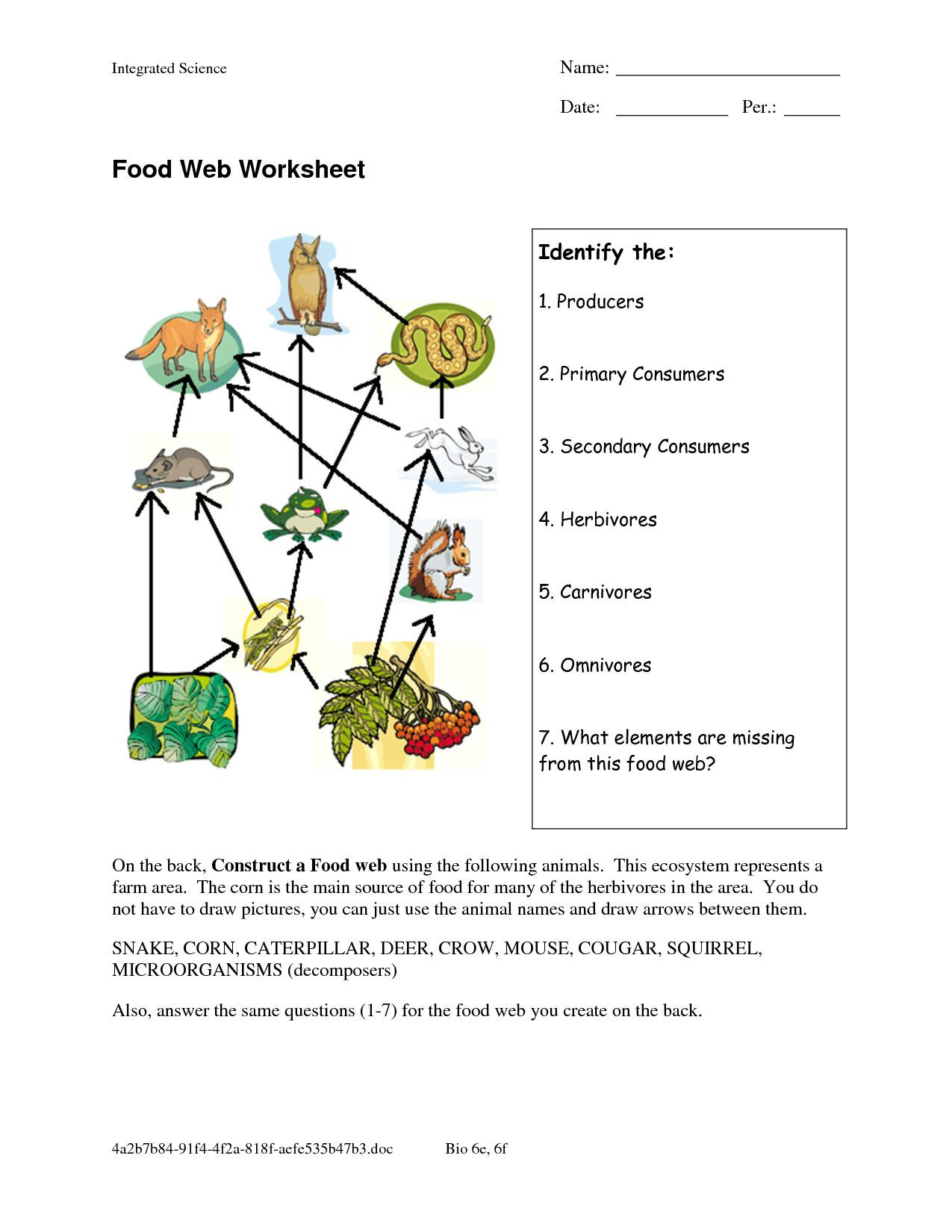 Introduction To Biotechnology Worksheet Answers