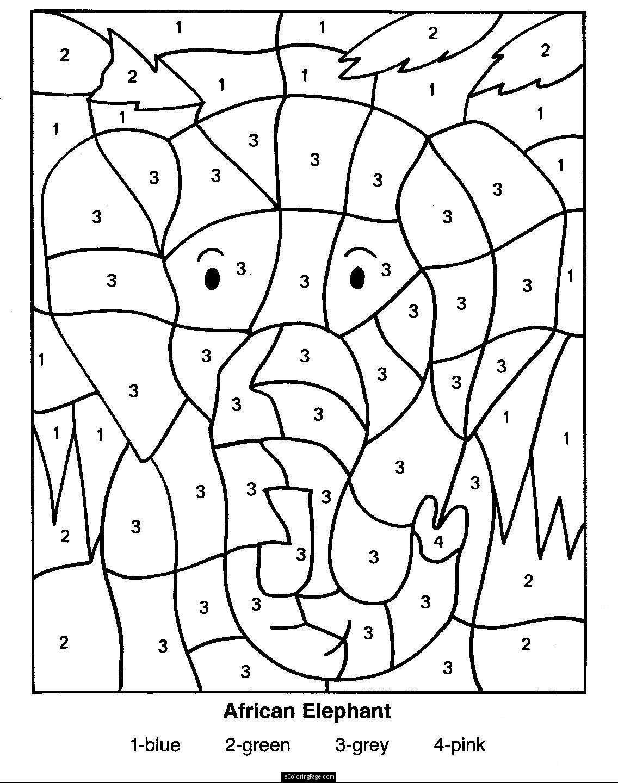 Color By Number Multiplication Worksheets — db-excel.com