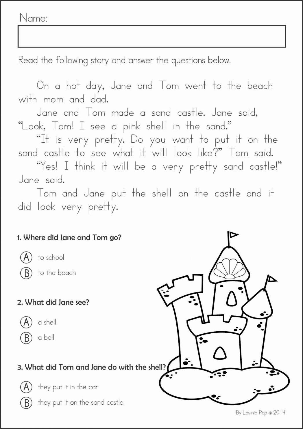 Kindergarten Printable Tracing Sheets Simple Handwriting