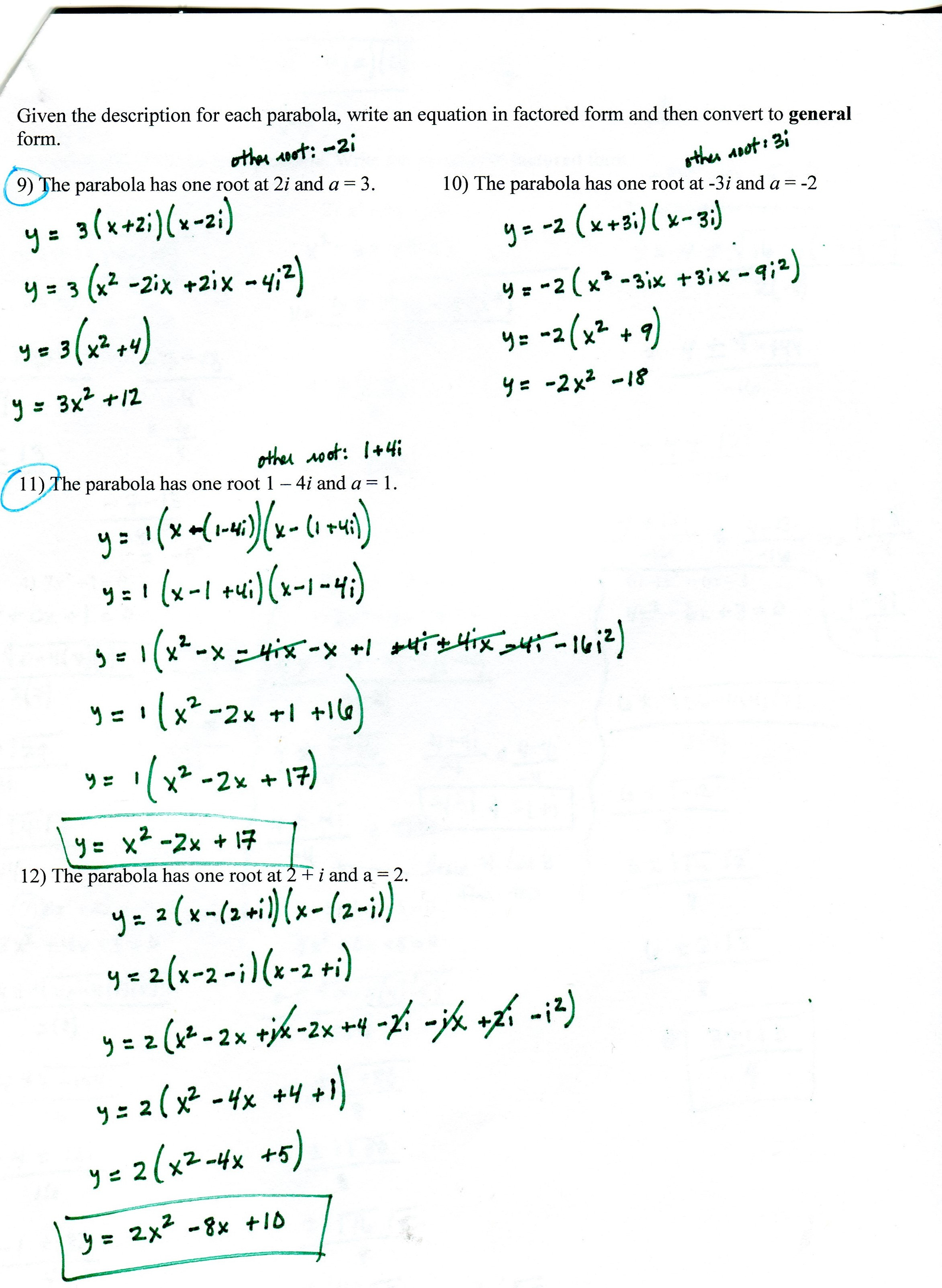 Logarithm Worksheet With Answers
