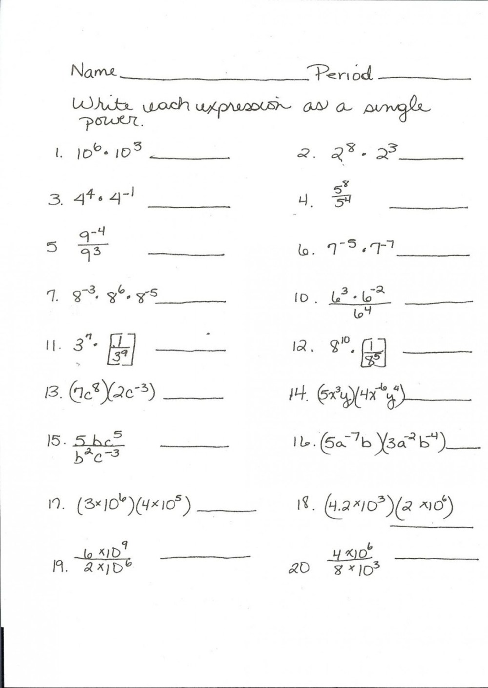 medium resolution of Math Practice Worksheets For 3rd Grade   Printable Worksheets and  Activities for Teachers