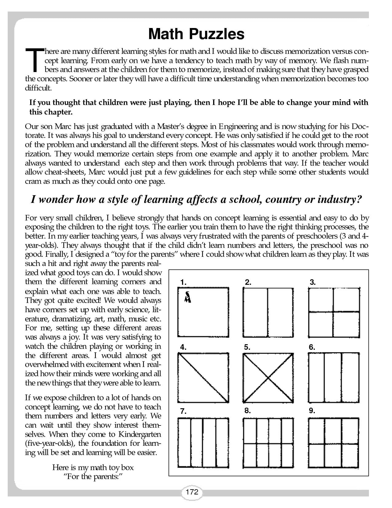 Middle School Math Worksheets Completing The Square