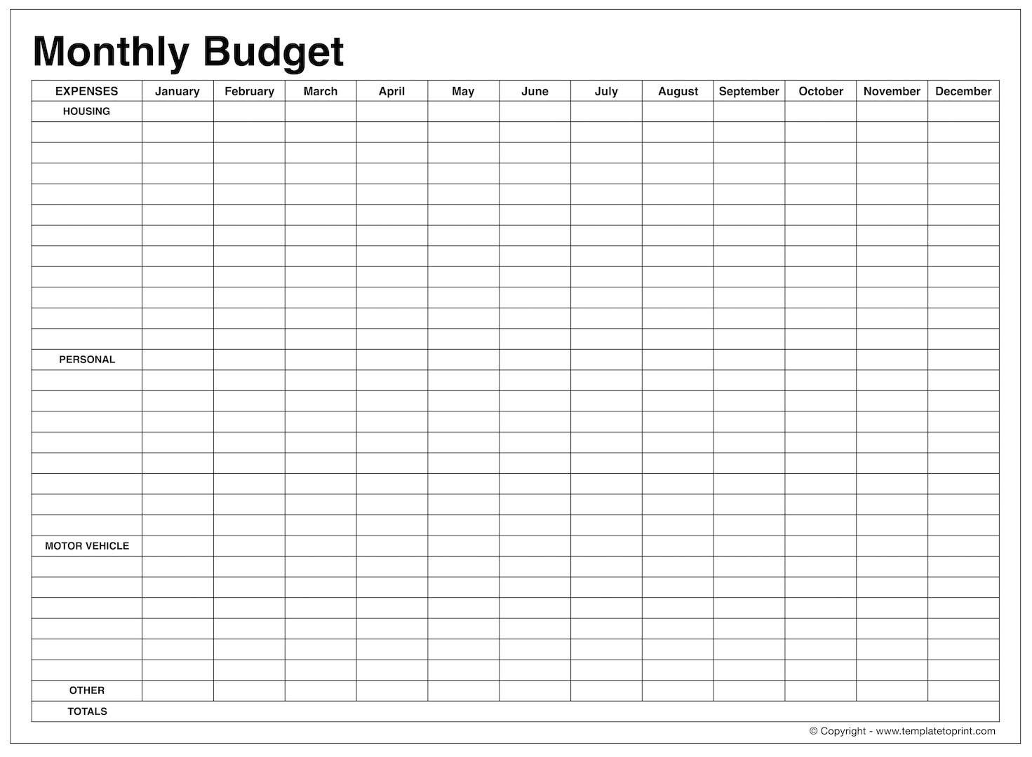 Monthly Budget Planner Worksheet Db Excel