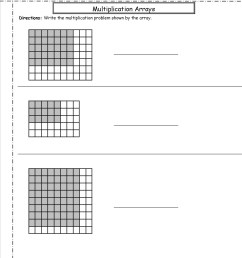 Printable Array Worksheets   Printable Worksheets and Activities for  Teachers [ 1650 x 1275 Pixel ]