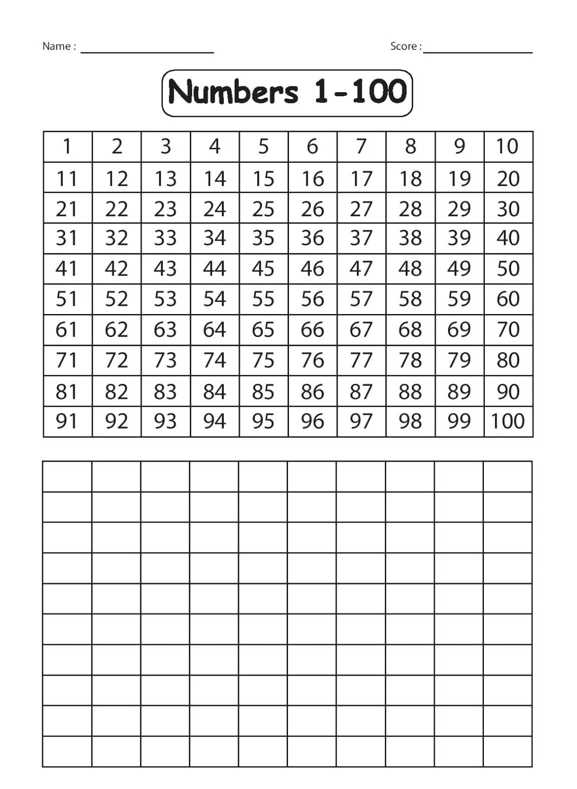 Number Tracing Worksheets 1 30 Printable Coloring Page For