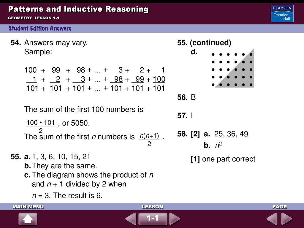 Patterns And Inductive Reasoning Ppt Download