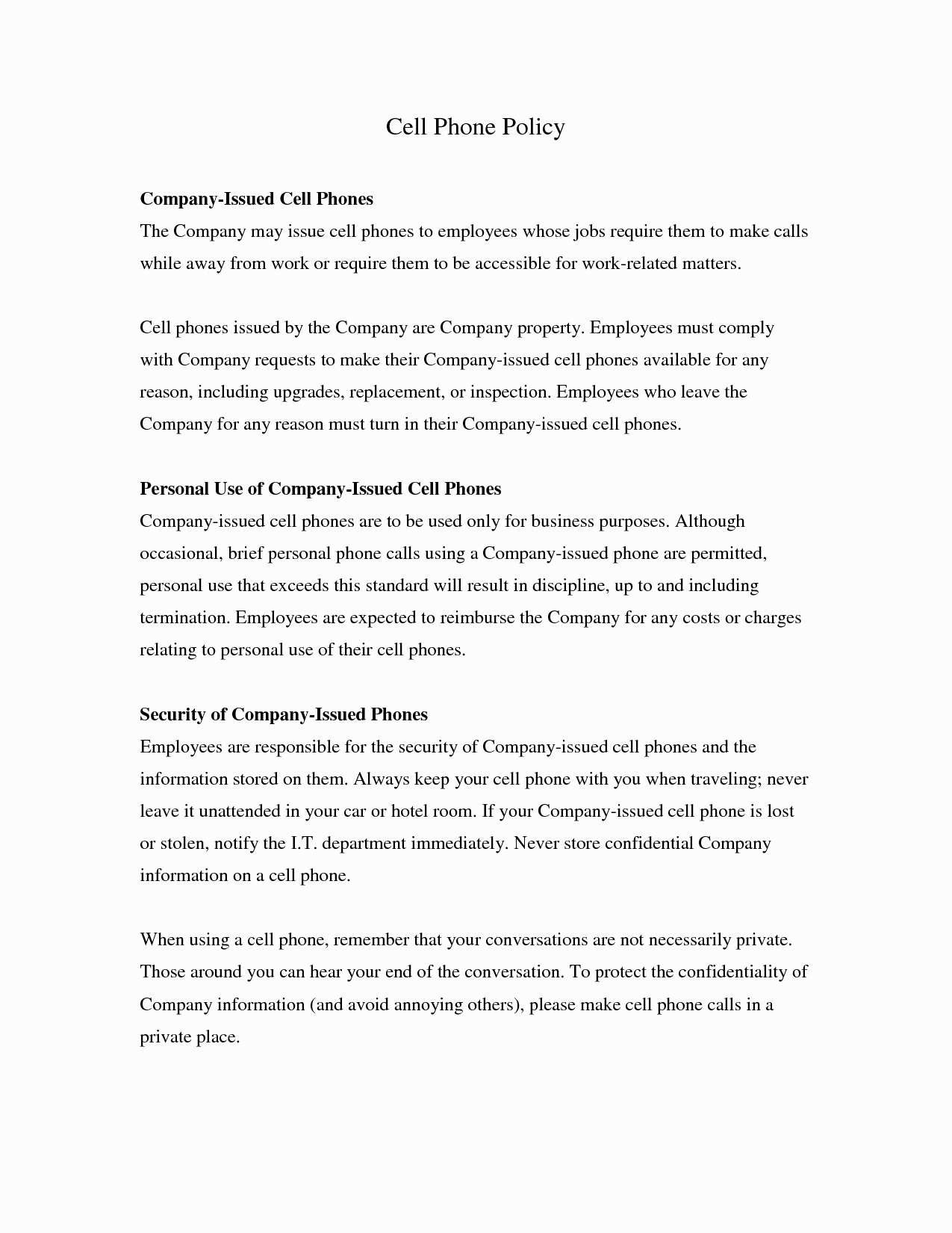 Personal Use Of Company Vehicle Worksheet
