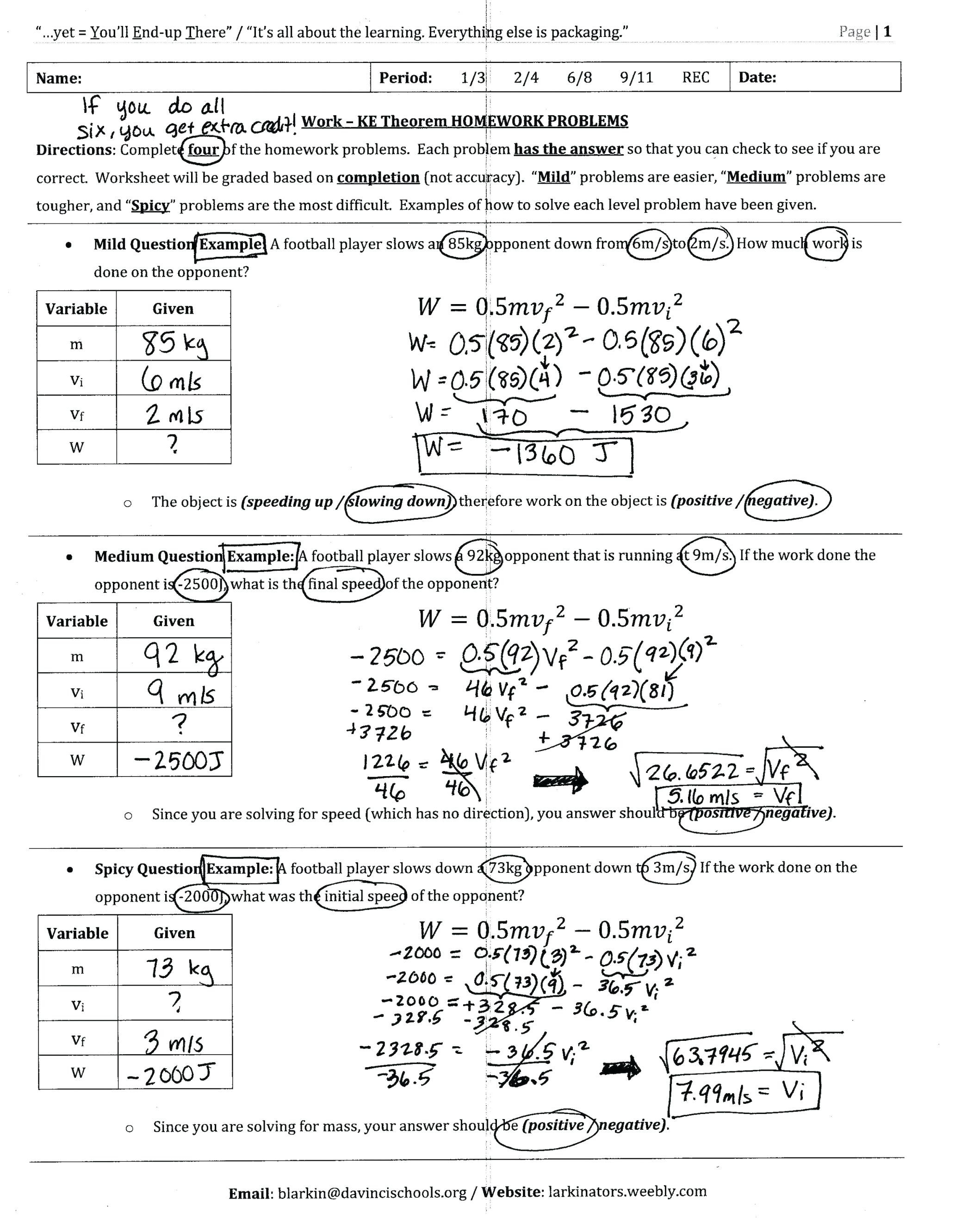 Physical Science Worksheets High School Sunraysheetco