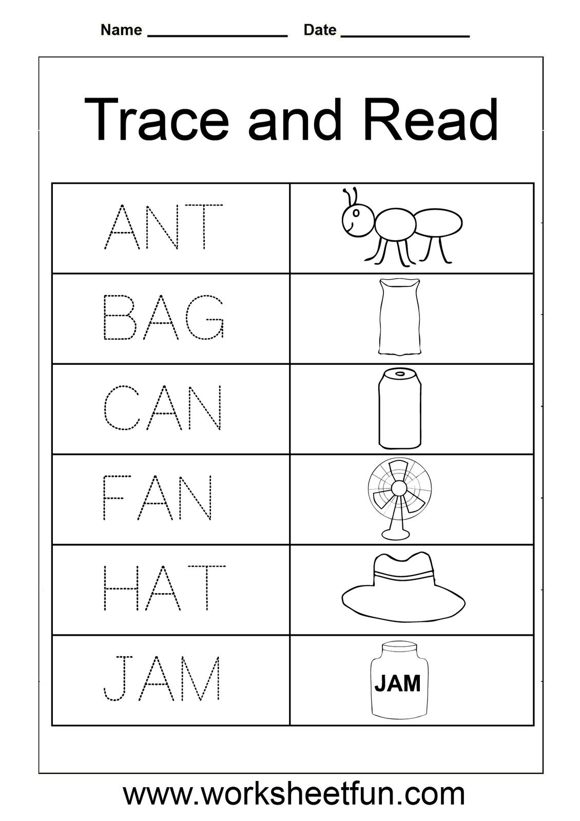 Worksheet On Phonics For Kindergarten
