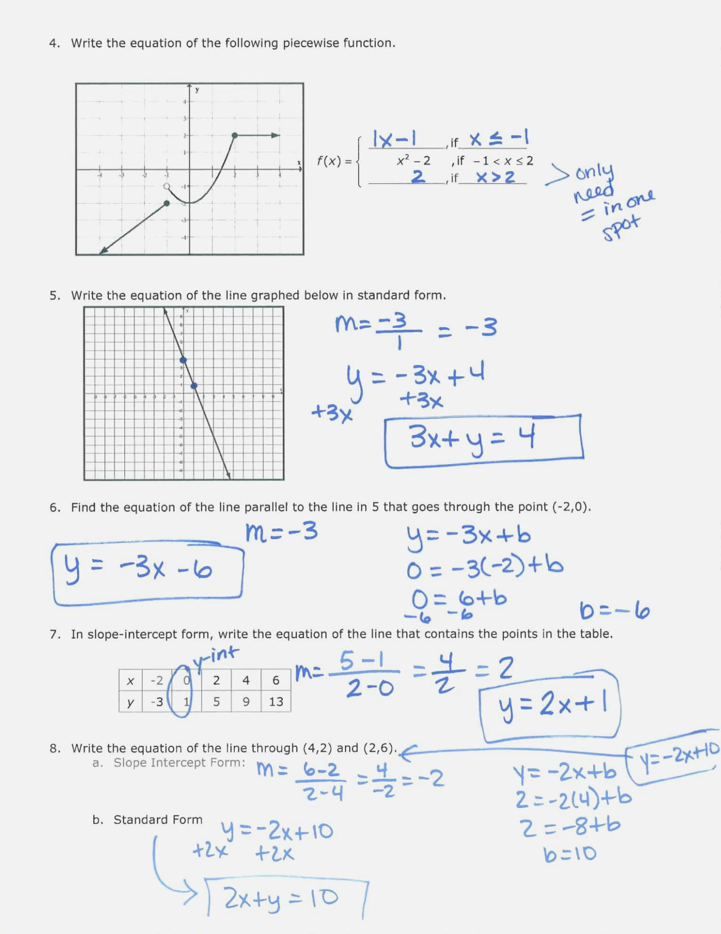 Practice Worksheet Graphing Quadratic Functions In Vertex