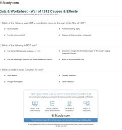 The War Of 1812 Map Study Worksheet   Printable Worksheets and Activities  for Teachers [ 1168 x 1140 Pixel ]