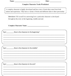 Character Traits For Kids Worksheets   Printable Worksheets and Activities  for Teachers [ 1662 x 1275 Pixel ]