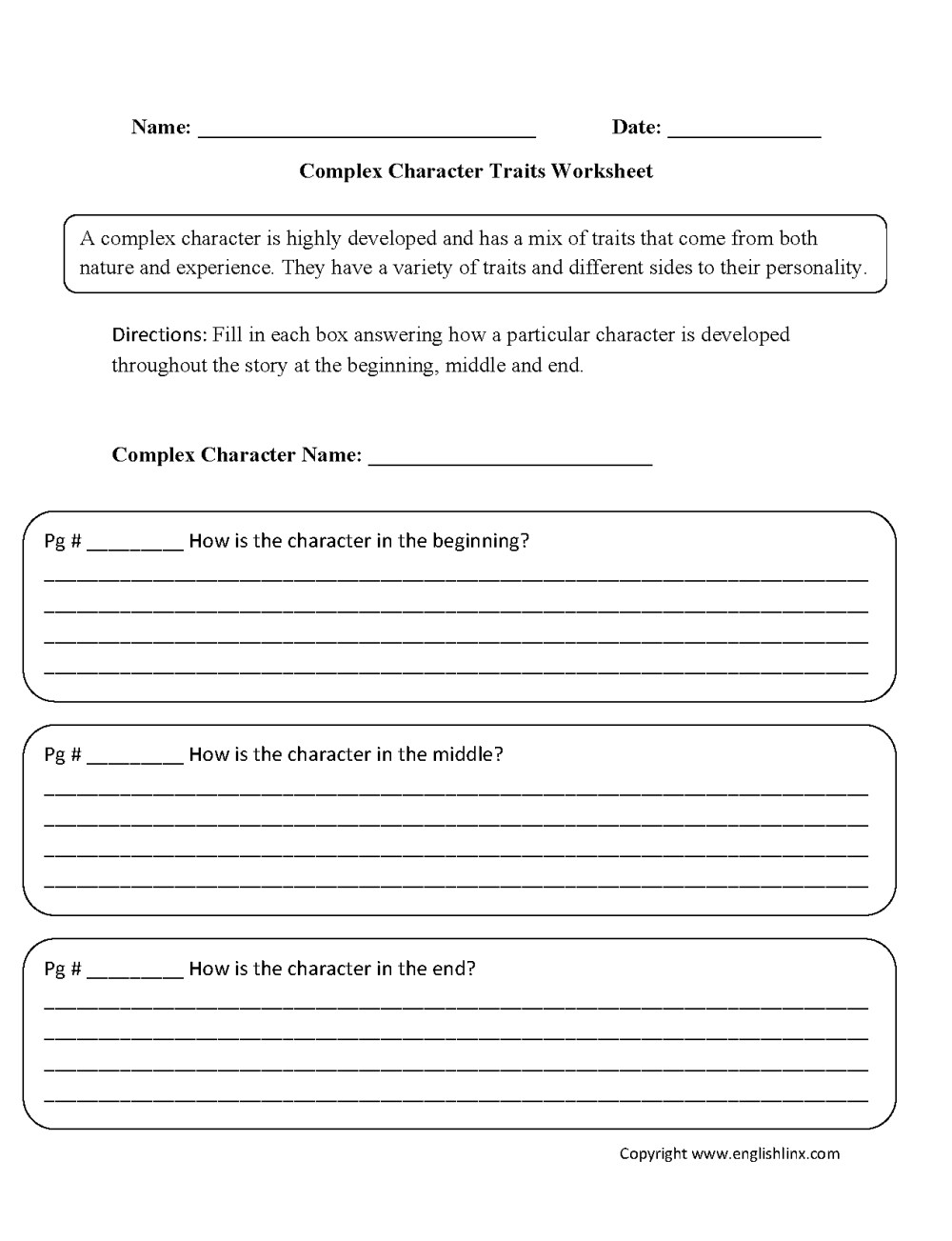 medium resolution of Character Traits For Kids Worksheets   Printable Worksheets and Activities  for Teachers