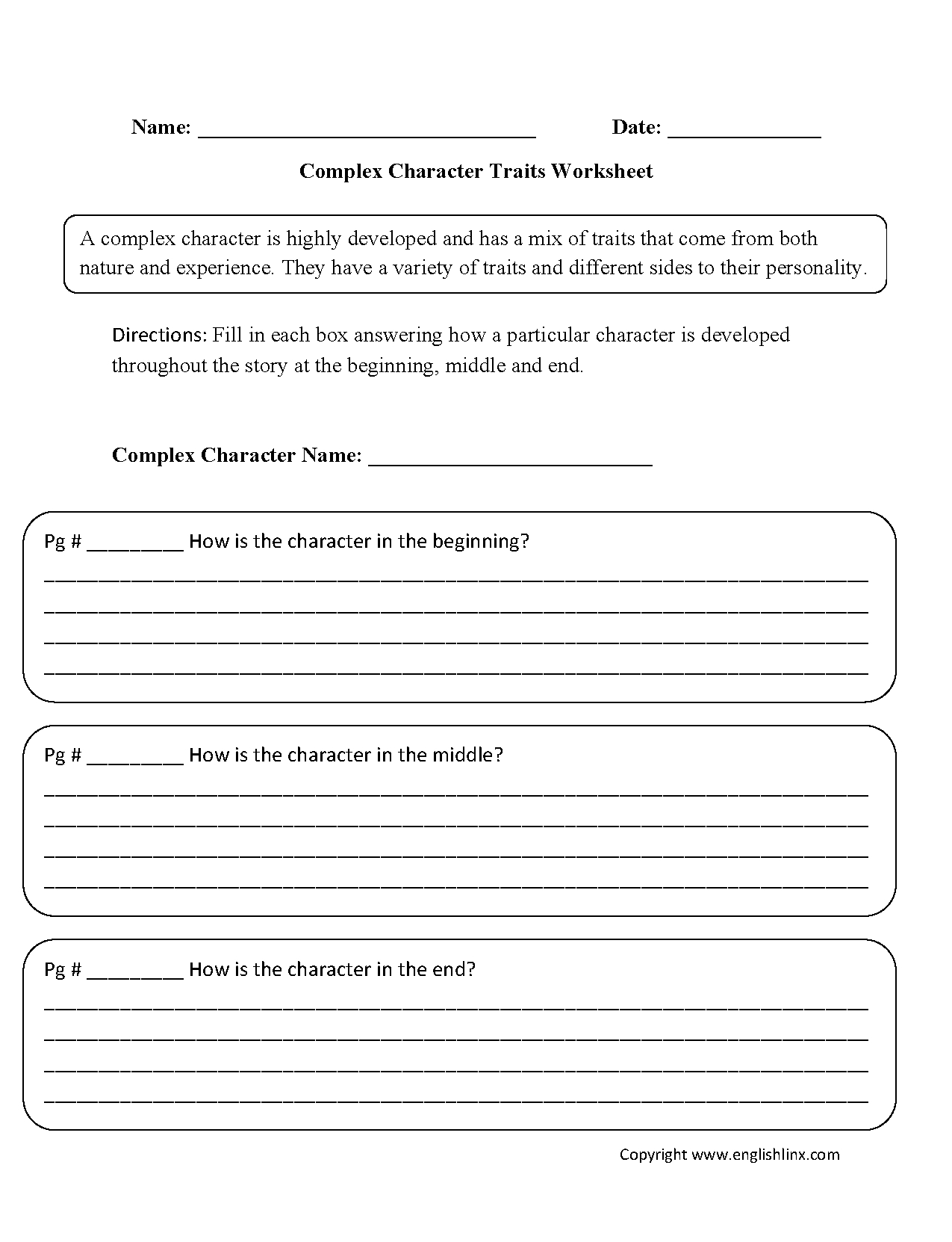 hight resolution of Character Traits For Kids Worksheets   Printable Worksheets and Activities  for Teachers
