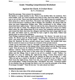 Reading Instructions Worksheet   Printable Worksheets and Activities for  Teachers [ 2200 x 1700 Pixel ]