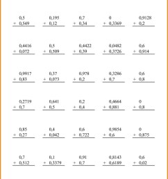 5th Grade Math Worksheets With Decimals   Printable Worksheets and  Activities for Teachers [ 1696 x 1202 Pixel ]
