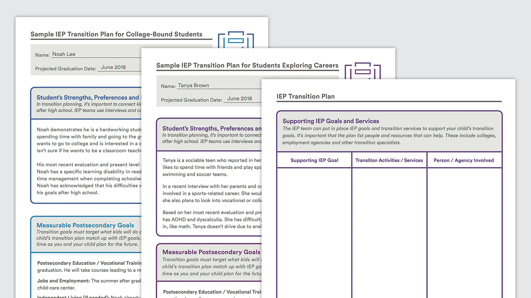 Transition Worksheets For Special Education Students