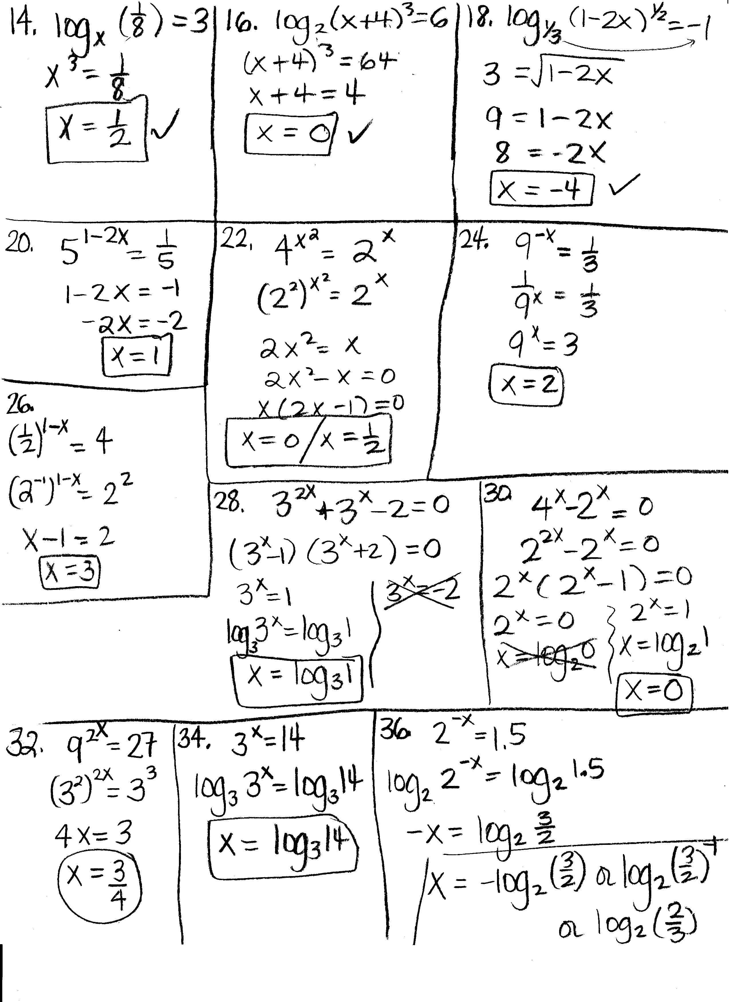 Search Exponents And Logarithms Worksheet As Eic Worksheet