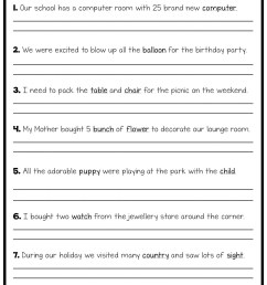 Sentence Fragments Worksheets   Printable Worksheets and Activities for  Teachers [ 2048 x 1448 Pixel ]