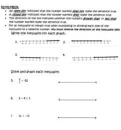 Solving Inequalities Worksheet Division   Printable Worksheets and  Activities for Teachers [ 2675 x 2262 Pixel ]