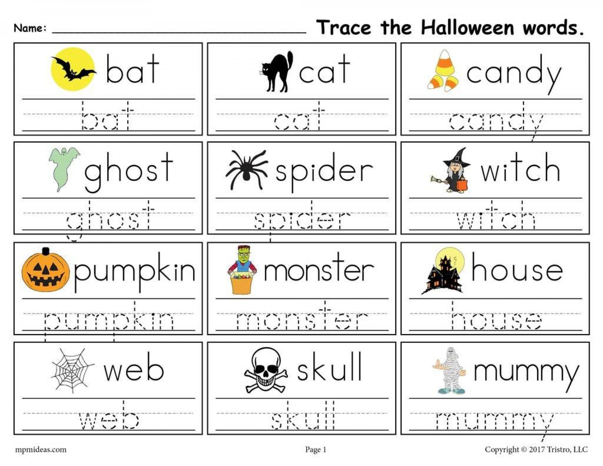 Stunning Free Printable Word Tracing Worksheets Sentence