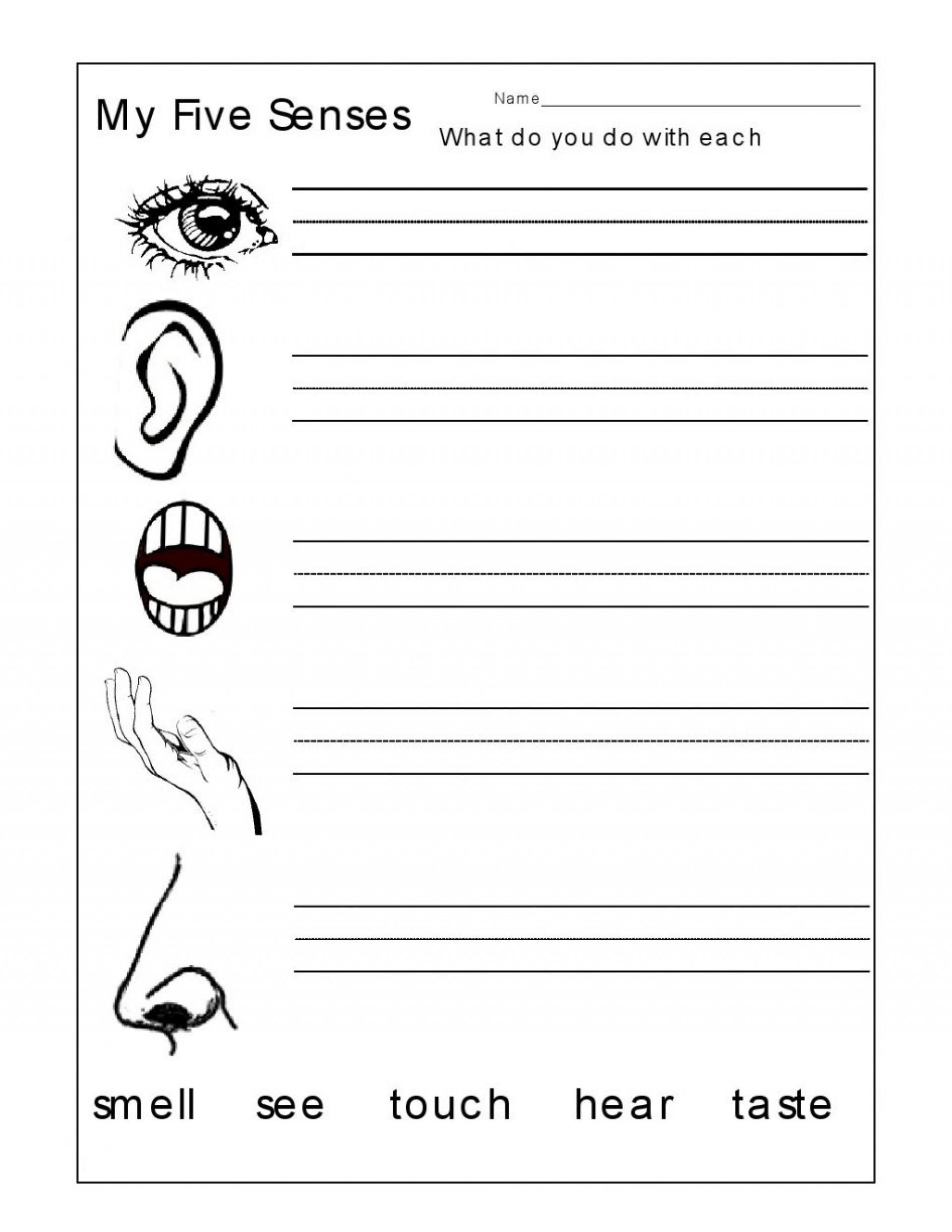 Stupendous Printable 1st Grade Sensory Poem Words