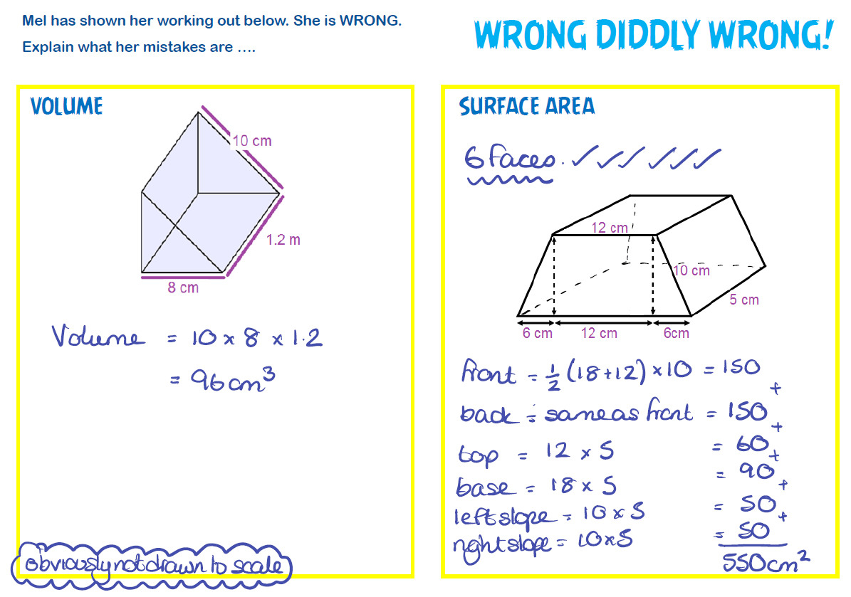 Surface Area And Volume Worksheets With Answers Pre