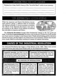 Industrial Revolution Printable Worksheet   Printable Worksheets and  Activities for Teachers [ 1322 x 1024 Pixel ]