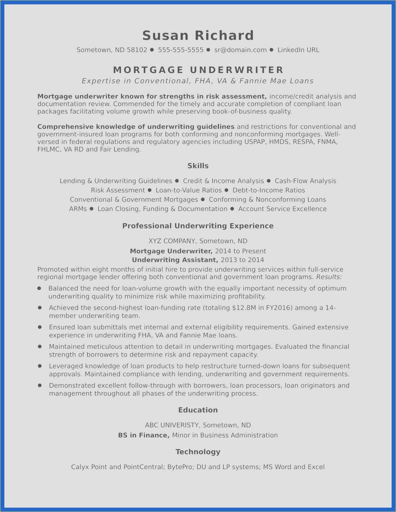 Underwriting Income Calculation Worksheet