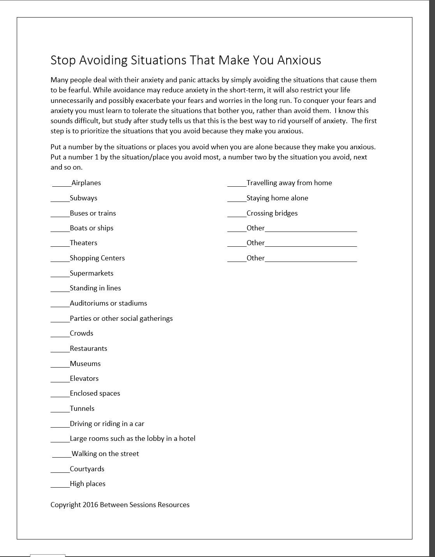 Worksheet Cbt Self Help Worksheets Coloring Apps For