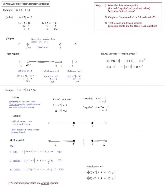 Worksheet Ideas Absolute Value Inequalities Worksheet