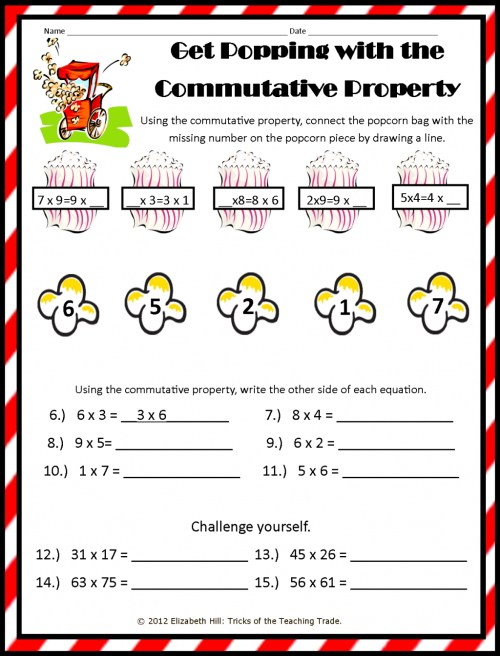 small resolution of Fourth Grade Distributive Property Worksheets   Printable Worksheets and  Activities for Teachers