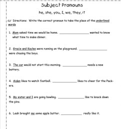 Demonstrative Pronouns Worksheets   Printable Worksheets and Activities for  Teachers [ 1325 x 1024 Pixel ]
