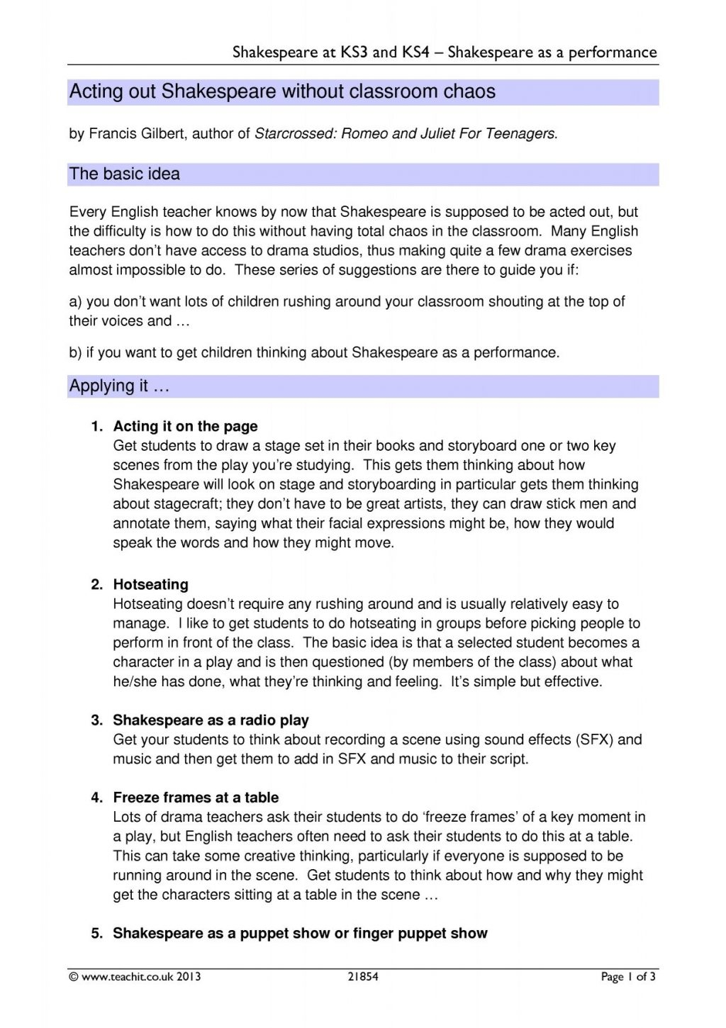 Worksheet Ideas Drama Vocabulary Worksheets For Middle
