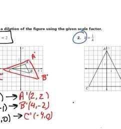 Scale Factor Geometry Worksheet   Printable Worksheets and Activities for  Teachers [ 768 x 1024 Pixel ]