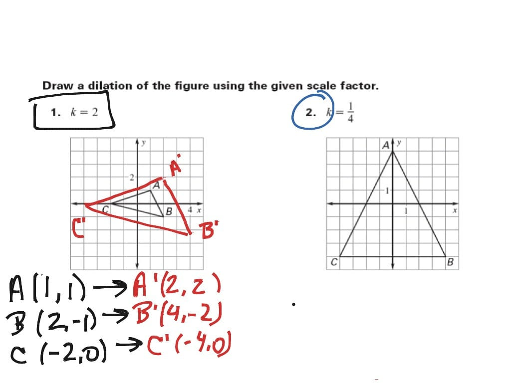 hight resolution of Scale Factor Geometry Worksheet   Printable Worksheets and Activities for  Teachers
