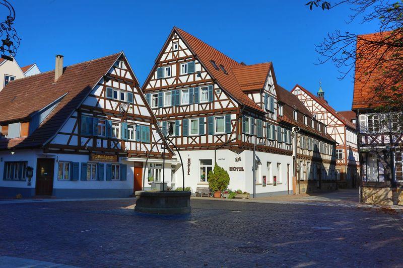 Marktplatz  Urlaubsland BadenWrttemberg