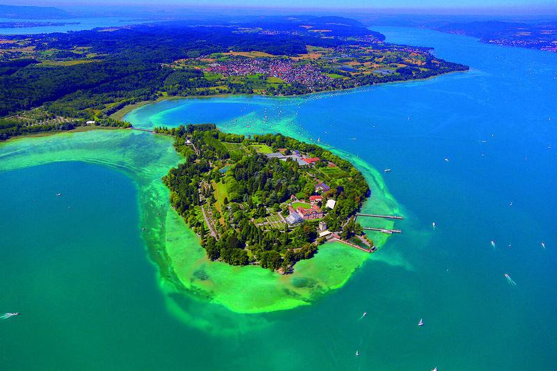 Insel Mainau  Urlaubsland BadenWrttemberg
