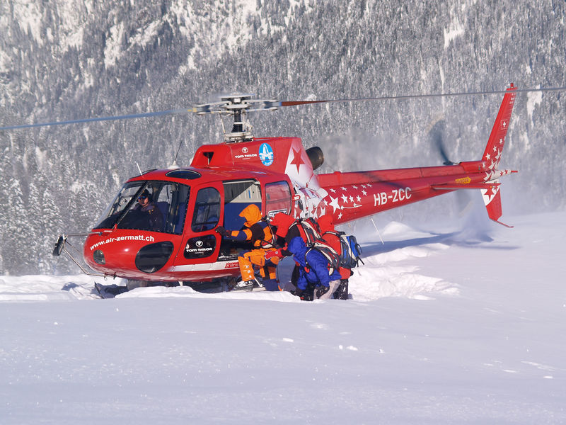 Air Zermatt  Zermatt Schweiz