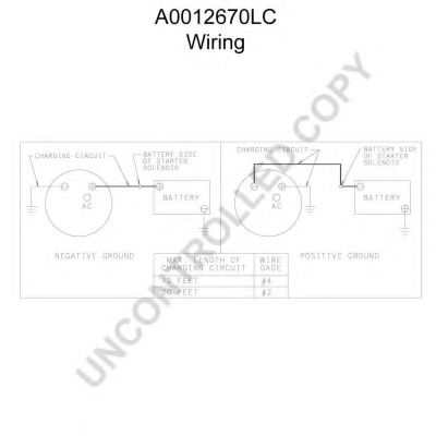 12 Volt Delco Alternator Wiring Diagram Delco Remy