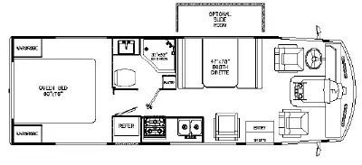 2006 Rexhall Vision V-26 Floorplan